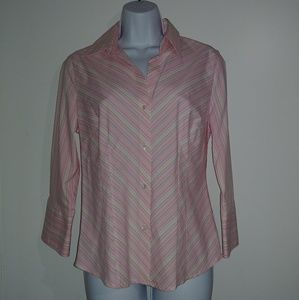 Worthington Tops - Worthington Stretch Women's Button Down Blouse
